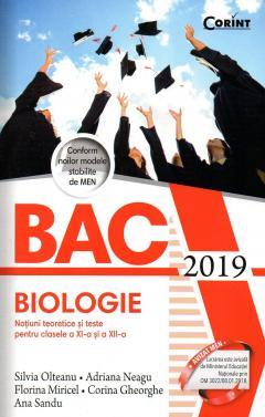 Bacalaureat 2019 - Biologie