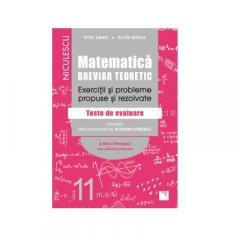 Matematica tehnologic. Clasa a 11-a. Breviar teoretic. Exercitii si probleme propuse si rezolvate.