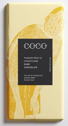 Ciocolata - Passion Fruit and Honeycomb, Dark Chocolate