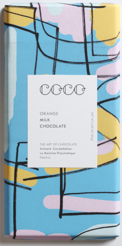 Ciocolata - Orange Milk 80g