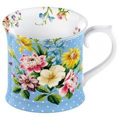 Katie Alice 'English Garden Blue' Tankard Mug
