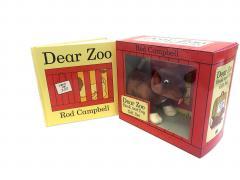 Set carte si jucarie - Dear Zoo