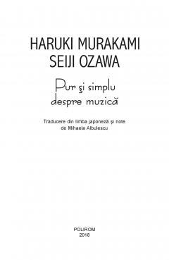 Pur si simplu despre muzica