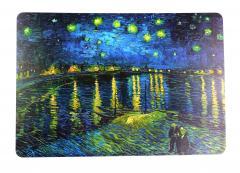 Suport farfurie - Van Gogh, Nuit etoilee sur le rhone