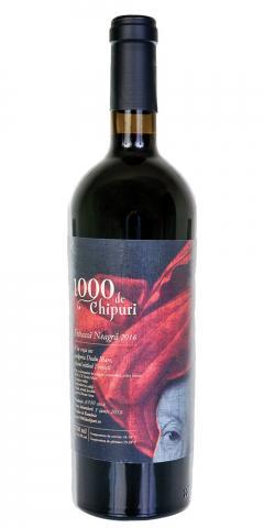 Vin rosu - 1000 de Chipuri / Feteasca Neagra, sec, 2016