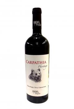 Vin rosu - 1000 de Chipuri / Carpathia Heritage, sec, 2019