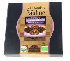 Bomboane de ciocolata neagră cu lapte - Les Chocolats e Pauline