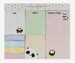 Sticky notes set - Panda