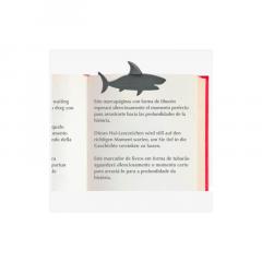 Semn de carte -  Shark