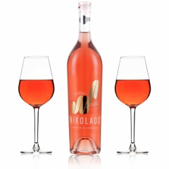 Vin rose - Nikolaus, Merlot, rose, sec