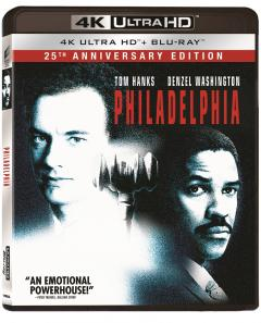 Philadelphia (4K Ultra HD + Blu-ray) / Philadelphia: 25th Anniversary Edition