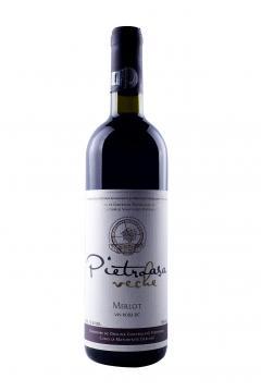 Vin rosu - Pietroasa Veche, Merlot, sec