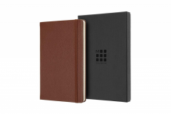 Carnet - Moleskine Limited Collection Notebook Leather Large Ruled Sienna Brown; Box Ed