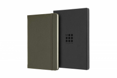 Carnet - Moleskine Limited Collection Notebook Leather Large Ruled Moss Green; Box Edit