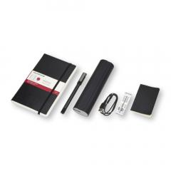 Set pix, penar, paper tablet- Moleskine Smart Writing Set Ellipse and Case