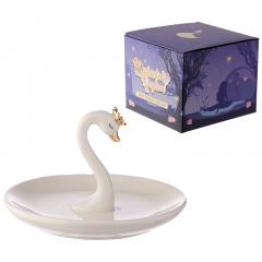 Suport - Collectable Swan Princess Trinket Tray and Ring Holder