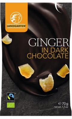 Ghimbir in ciocolata neagra - Ginger in Dark Chocolate