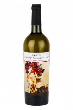 Vin alb - 7Arts, Tamaioasa Romaneasca, sec, 2018