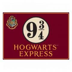 Tabla decorativa - Harry Potter Hogwarts Express Half Moon Bay