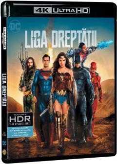 Liga dreptatii 4K UHD (Blu Ray Disc) / Justice League