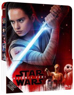 Star Wars: Ultimul Jedi (Blu Ray Disc) Steelbook  / Star Wars: The Last Jedi