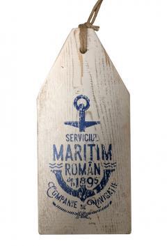 Lemn Decorativ Serviciul Maritim Roman