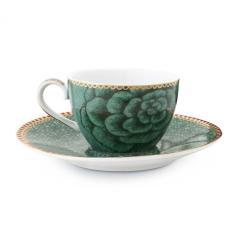 Ceasca espresso cu farfurie - Green