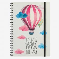 Agenda A4 - Follow your dreams