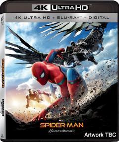 Omul-Paianjen - Intoarcerea acasa 4K UHD (Blu Ray Disc) / Spider-Man - Homecoming