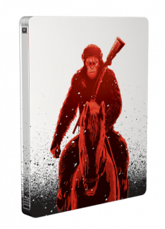 Planeta Maimutelor - Razboiul 2D+3D (Blu Ray Disc) Steelbook / War for the Planet of the Apes