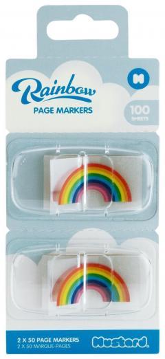 Markere pentru pagini - Rainbow