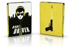 Baby Driver 2D+CD (Blu Ray Disc) Steelbook / Baby Driver
