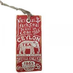 Obiect decorativ din lemn - Ceai Ceylon