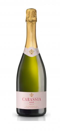 Vin spumant - Carastelec, Carassia Pinot Noir rose, brut, 2015