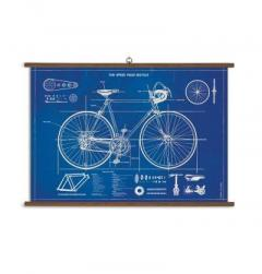 Poster vintage-Bicicleta