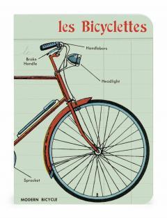 Set 3 carnetele-Vintage Bicycles