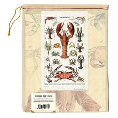 Servet pentru ceai-Crustacee