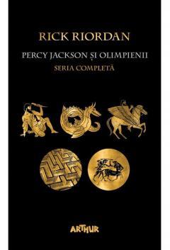 Pachet Percy Jackson si Olimpienii