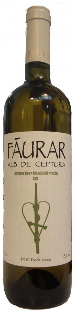 Vin alb - Faurar Alb de Ceptura, sauvignon blanc. 2014, sec