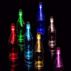 Fibra optica decorativa pentru sticla