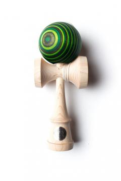 Joc de indemanare - Kendama Next Gen HG Maple Ken - Green Goblin Complete Cushion
