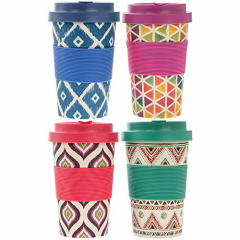 Cana de voiaj - Bamboo Travel Mug
