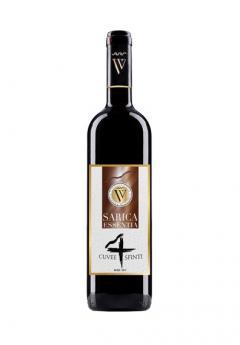 Vin rosu - 4 Sfinti / Sarica Cuvee, sec, 2017