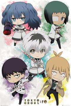 Poster - Tokyo Ghoul re Chibi Characters