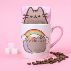 Set cana si sosete - Pusheen Unicorn