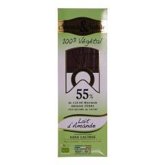 Ciocolata neagra bio - Chocolat Noir Lait d'Amande