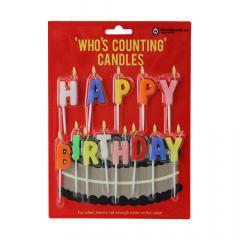 Set lumanari - Happy Birthday