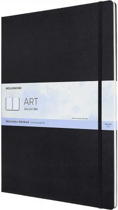 Carnet pentru schite - Moleskine Art Watercolour - Black