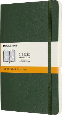 Carnet - Moleskine Large Ruled - Myrtle Green