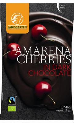 Cirese in ciocolata neagra - Amarena Cherries in Dark Chocolate